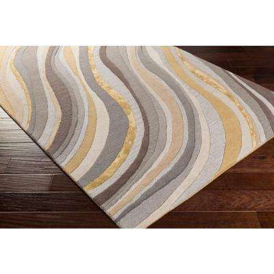 Lounge Carmen Light Yellow 4 ft. x 6 ft. Indoor Area Rug