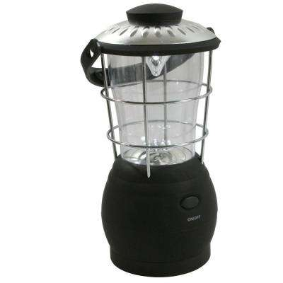 Hand Crank Powered Super-Bright LED Camping Lantern