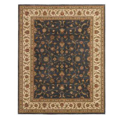 Maggie Blue 9 ft. 2 in. x 11 ft. 11 in. Area Rug