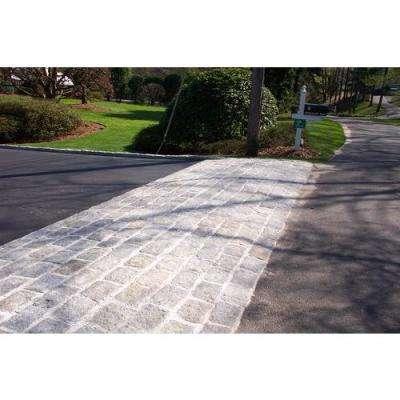 Cobblestone 8 in. x 4 in. x 4 in. Granite Gray Edger Kit (Pallet of 100 pieces)