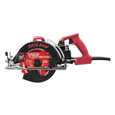 15-AMP 7-1/4 in. 75th Anniversary Wormdrive Saw
