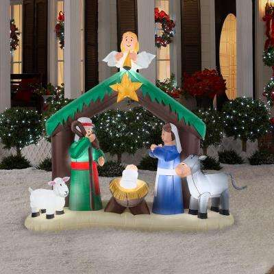 7 ft. Inflatable Nativity Scene