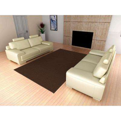 Medallion Chocolate 12 ft. x 12 ft. Square Area Rug