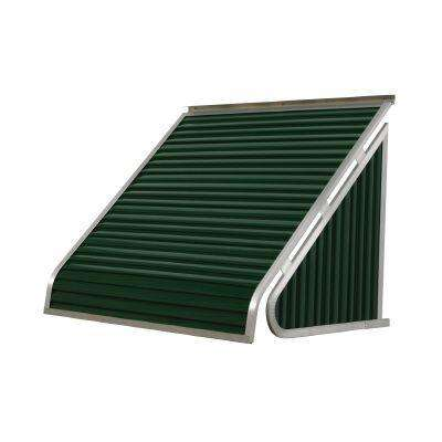 5 ft. 3500 Series Aluminum Window Awning (28 in. H x 24 in. D) in Hunter Green