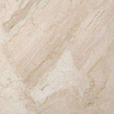 New Diana Reale 12 in. x 12 in. Polished Marble Floor and Wall Tile (10 sq. ft. / case)