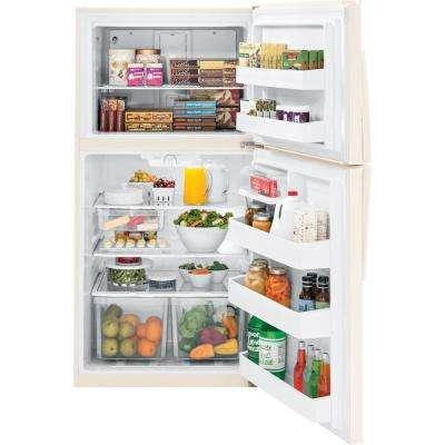 21.1 cu. ft. Top Freezer Refrigerator in Bisque