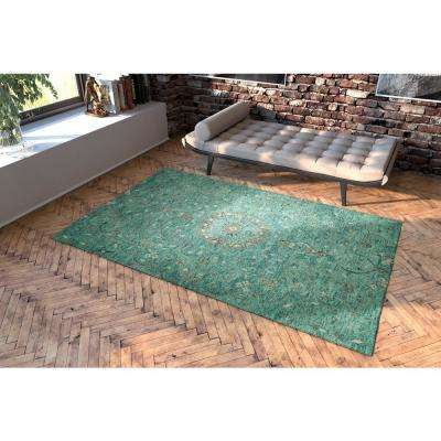 Chancellor Turquoise 3 ft. x 8 ft. Runner Rug