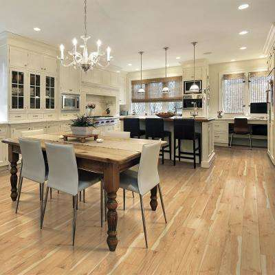 Outlast+ Arden Blonde Hickory 10 mm Thick x 6-1/8 in. Wide x 47-1/4 in. Length Laminate Flooring (16.12 sq. ft.)