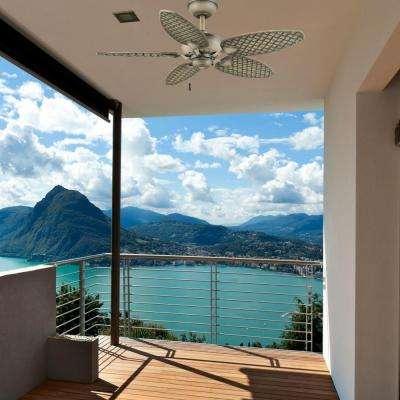 Largo 48 in. Indoor/Outdoor Weathered Zinc Ceiling Fan