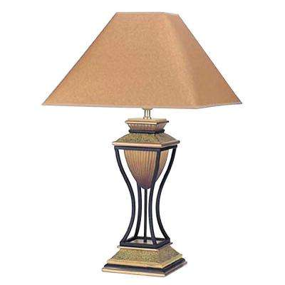 Home Deco 32 in. Antique Bronze Table Lamp