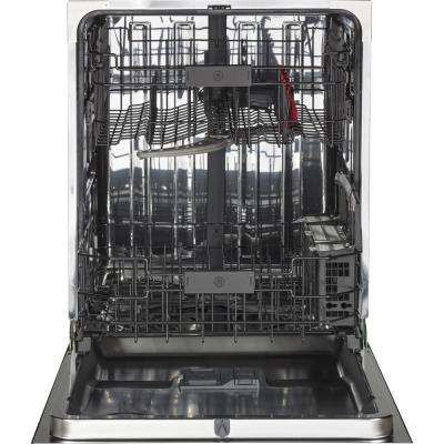 Top Control Dishwasher In Stainless Steel with Stainless Steel Tub and Steam Prewash