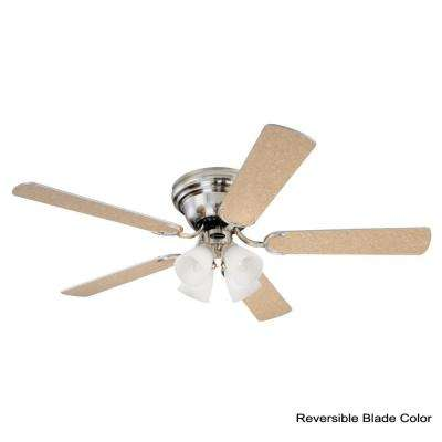 Contempra IV 52 in. Brushed Nickel Ceiling Fan