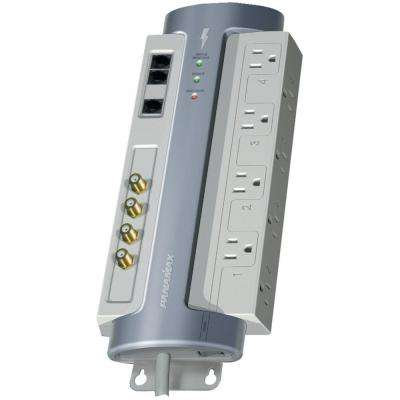8-Outlet Surge Protector with Satellite, CATV and Telephone Protection