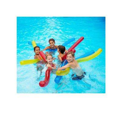 Water Worms inflatable Noodle Set Floats (Set of 6)