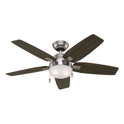 Antero 46 in. Brushed Nickel Indoor Ceiling Fan