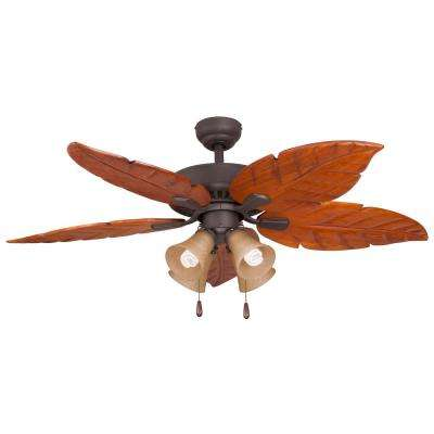 Tunisia 52 in. Bronze Ceiling Fan
