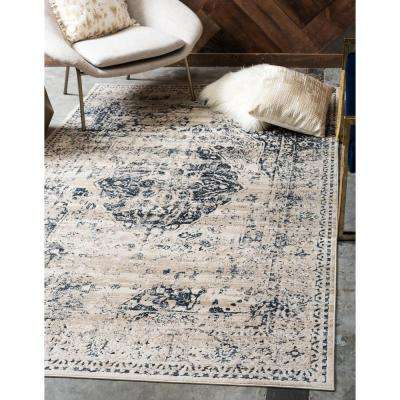 Chateau Hoover Dark Blue 5' 0 x 8' 0 Area Rug