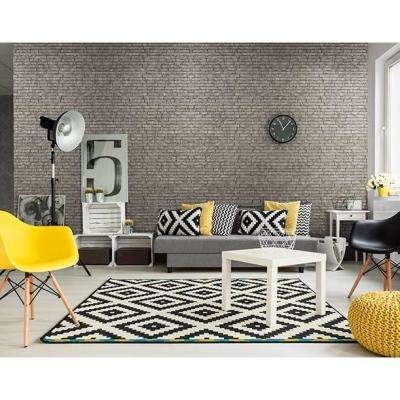 Ledge Stone 24 in. x 24 in. Portland Cement PVC Wall Panel