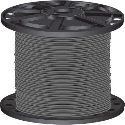 2,500 ft. 10-Gauge Gray Solid CU SIMpull THHN Wire