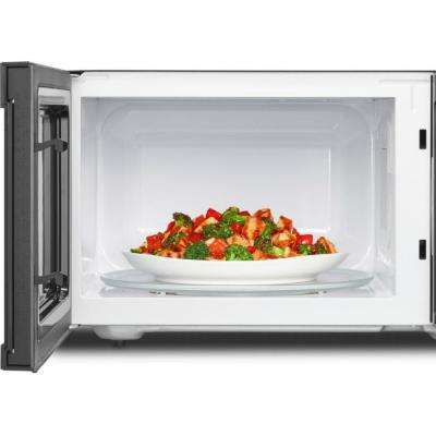 2.2 cu. ft. Countertop Microwave in White with 1,200-Watt Cooking Power