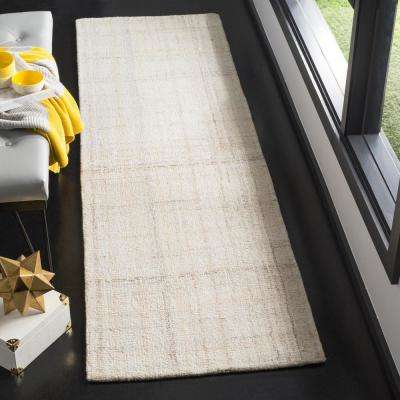 Abstract Ivory/Beige 2 ft. 3 in. x 8 ft. Runner
