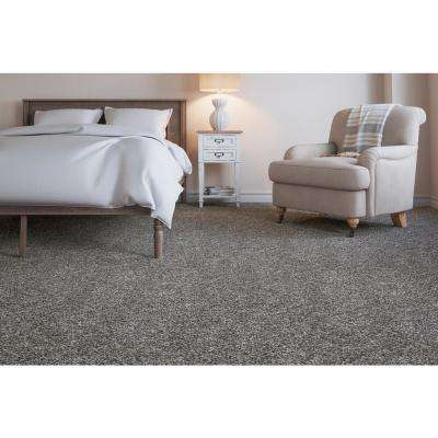 Cobblestone II - Color Home Port Texture 12 ft. Carpet