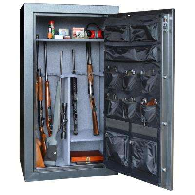 38-Gun 15.6 cu. ft. Electric Lock Gun Safe with Premium Door Organizer