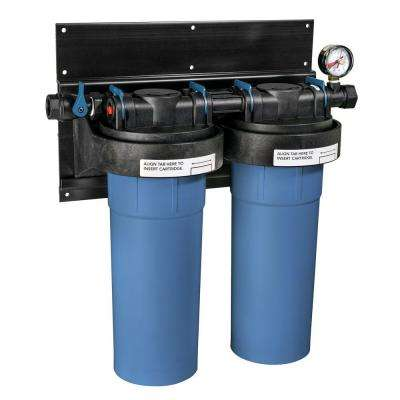 SuperPlus 14 in. Whole House Ultra-Filtration Water Filter System