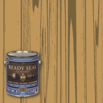 1 gal. Honey Ultimate Interior Wood Stain and Sealer