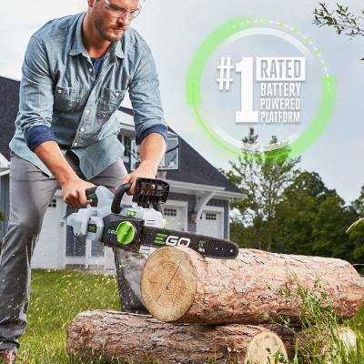 16 in. 56V Lithium-Ion Cordless Electric Chainsaw (Tool Only)