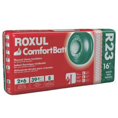 ComfortBatt 5-1/2 in. x 15-1/4 in. x 47 in. R-23 Fire Resistant Stone Wool Insulation (12-Bags)