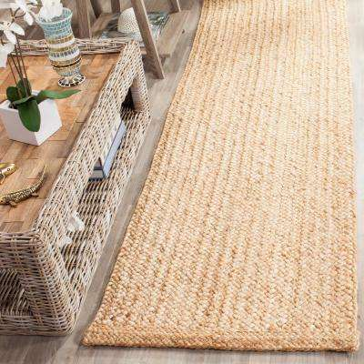 Natural Fiber Beige 2 ft. 6 in. x 6 ft. Runner Rug