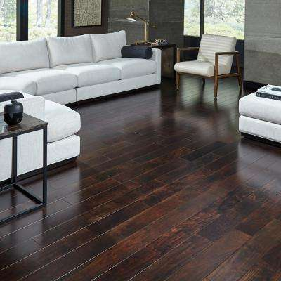 Cocoa Acacia 3/8 in. Thick x 5 in. Wide x Varying Length Click Lock Exotic Hardwood Flooring (26.25 sq. ft. / case)