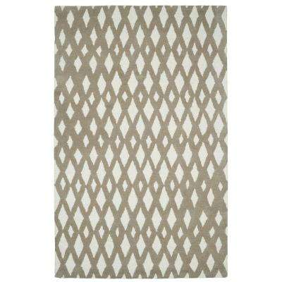 Palace Beige/Ivory 5 ft. x 8 ft. Indoor Area Rug