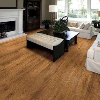 Embossed Hillside Oak 8 mm Thick x 7-3/5 in. Wide x 47-7/8 in. Length Laminate Flooring (1010 sq. ft. / pallet)