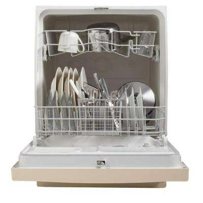 Front Control Dishwasher in Bisque, 64 dBA