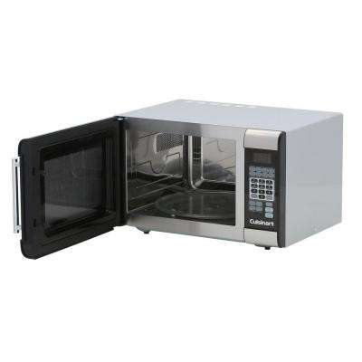 1.0 cu. ft. Countertop Microwave in Stainless Steel