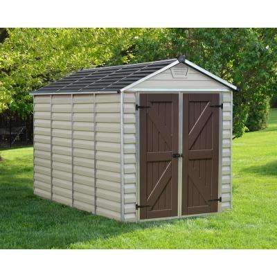 SkyLight 6 ft. x 10 ft. Tan Storage Shed