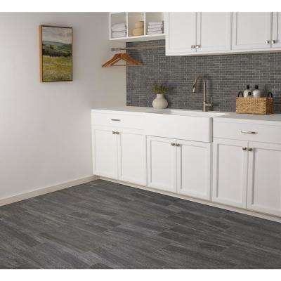 Urban Craft Graphite 12 in. x 24 in. Glazed Porcelain Floor and Wall Tile (15.6 sq. ft. / case)