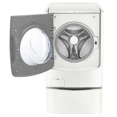 4.5 cu. ft. High-Efficiency Front Load Washer with TurboWash in White, ENERGY STAR