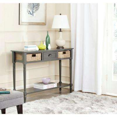 American Home Collection Winifred Console Table in Grey