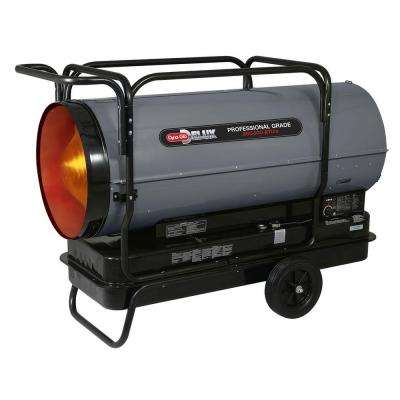 650K BTU Forced Air Kerosene Portable Heater with Thermostat