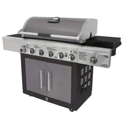 6-Burner Dual Fuel Gas Grill