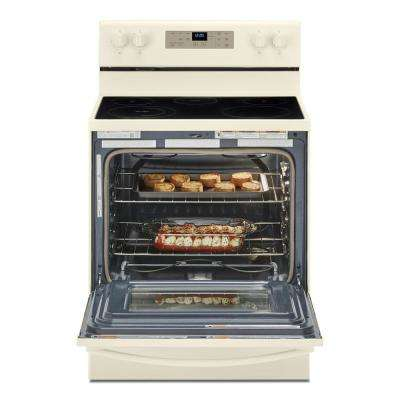 30 in. 5.3 cu. ft. Electric Range with 5-Elements and Frozen Bake Technology in Biscuit