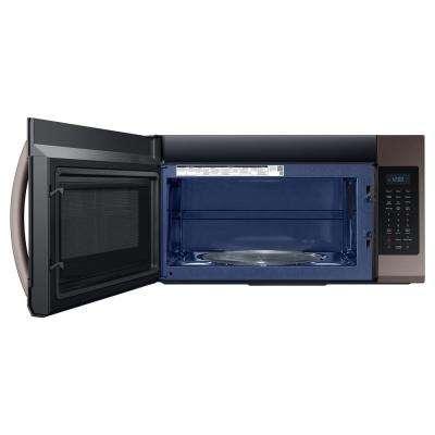30 in. 1.9 cu. ft. Over-the-Range Microwave in Fingerprint ResistantTuscan Stainless Steel