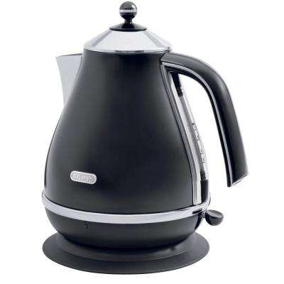 Icona 57.5 oz. Electric Kettle in Black