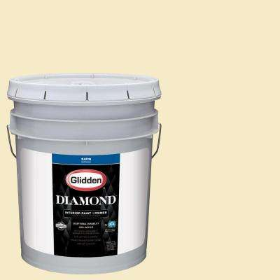 5 gal. #HDGY62U Carriage Light Satin Interior Paint with Primer