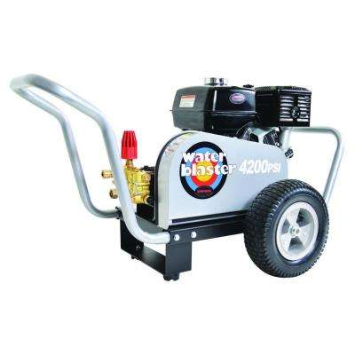 Water Blaster 4,200 psi 4.0 GPM Belt Drive Gas Pressure Washer Powered by Honda
