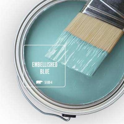 510D-4 Embellished Blue Paint
