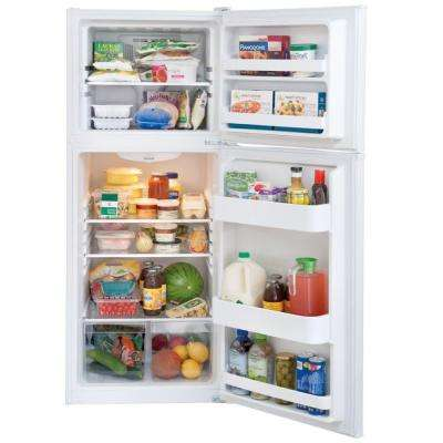 11.5 cu. ft. Top Freezer Refrigerator in White, ENERGY STAR